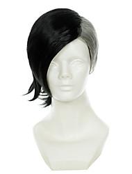 povoljno -Perike za maškare / Sintetičke perike Ravan kroj Žene Capless Cosplay perika Sintentička kosa