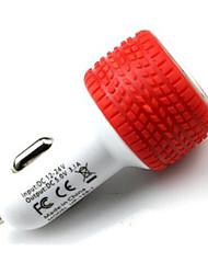 economico -Porte Multi Caricabatteria da auto Other 2 porte USB Solo Charger per il cellulare(5V , 2,1A)
