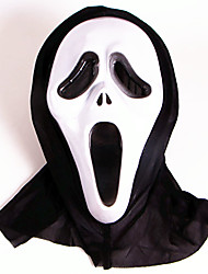 cheap -Halloween Masks Toys Ghost Scary Scream Plastic PVC Horror 1 Pieces Halloween Masquerade Gift