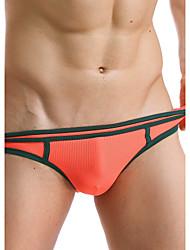 cheap -Men's Sexy Briefs Underwear Solid Colored 1 Piece