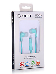 Lovely cute MC-23 High Quality Fashion Design Earphone with Mic Remote for all mobile phone For xiaomi mp4 mp3
