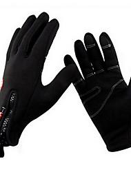 Недорогие -Спортивные перчатки Перчатки для сенсорного экрана Перчатки для велосипедистов Сохраняет тепло Пригодно для носки Износостойкий