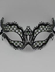 Luxury Rhine stone laser cutting Venice Carnival Party Mask3004C1