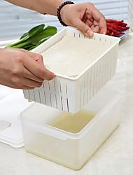 Недорогие -1pc охраны окружающей среды сохранение холодильника alimental коробки для хранения соевый творог