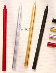 Недорогие -Ручка Ручка Гелевые ручки Ручка, пластик Красный Черный Синий Цвета чернил For Школьные принадлежности Офисные принадлежности В упаковке