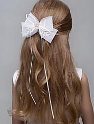 abordables -Perla Cristal Perla Artificial Tiaras Diademas Flores Cadena de cabeza Guirnaldas Pinza para el cabello 1 Boda Ocasión especial Casual