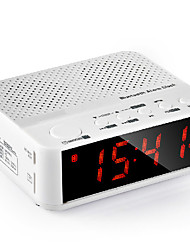 Wireless Bluetooth Speaker Bedside Alarm Clock Radio Clock Card Portable Music Player