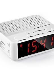 Wireless Bluetooth Speaker Bedside Alarm Clock Radio Clock Card Portable Music Player
