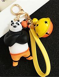 Panda Doll Keychain Creative Car Keys