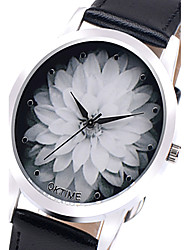 Relojes Mujer 2016 Fashion Watch Women Lotus Flowers Quartz Wristwatch Unisex Children Watch Relogio Feminino