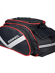 cheap -Rosewheel Bike Bag 13L Shoulder Bag Panniers & Rack Trunk Moistureproof/Moisture Permeability Wearable Shockproof Bicycle Bag PU Leather
