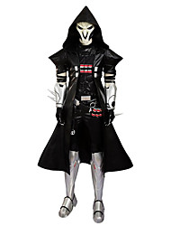Fantasias de Cosplay Festa a Fantasia Baile de Máscara Super-Heróis Soldado/Guerreiro Esqueleto/Caveira Cosplay de Filmes Blusa Calças