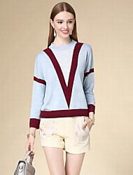 cheap -DOF Women's Daily Casual Short Pullover