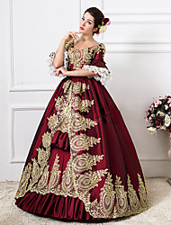 49a4a5bc3fc7d Rococo Victorian 18th Century Costume Women s Dress Party Costume  Masquerade Ball Gown Red Vintage Cosplay Lace Party Prom Floor Length Long  Length Ball ...