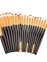 cheap -20pcs Makeup Brushes Professional Makeup Brush Set / Blush Brush / Eyeshadow Brush Synthetic Hair / Artificial Fibre Brush Portable /