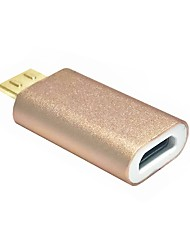 cheap -Magnetic Micro USB Adapter Micro USB Female Charging Data Sync Cable For