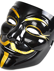 cheap -Halloween Mask Masquerade Mask Movie Character Horror Plastic PVC 1pcs Pieces Adults' Gift