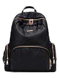 Women School Bag Oxford Cloth Casual Black Purple Blue