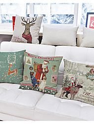 1Pcs Christmas Garland Christmas decorations pattern Pillow cover
