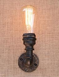 economico -ac 220v-240v 40w e27 bg817 nostalgia semplice tubo di acqua luce murale decorativo piccola lampada da parete