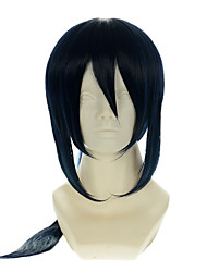 cheap -K Yatogami Kuroh Special Mixed Ink Blue Halloween Wig Synthetic Wig Costume Wigs