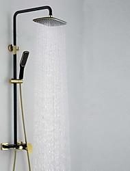 Dusche Wasserhahn antike regen Dusche Handbrause enthalten