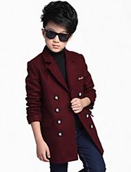 cheap -Boy's Cotton Jacket & Coat,All Seasons / Spring / Fall Color Block