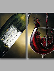 cheap -Stretched (Ready to hang) Hand-Painted Oil Painting 100cmx80cm Canvas Wall Art Modern Still Life
