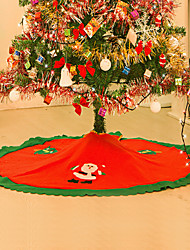 cheap -Tree Skirts Ornaments Floral/Botanicals Holiday Inspirational Textile Christmas Novelty Halloween Party Christmas Decoration