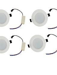 cheap -YouOKLight 4PCS  3W 300lm White/Warm White  Light 6-SMD5730 Downlight Ceiling Lamp (85-265V)