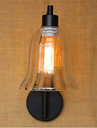 baratos -Rústico / Campestre / Regional Luminárias de parede Metal Luz de parede 110-120V / 220-240V 40W