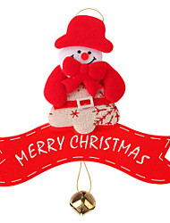 Недорогие -Рождественский декор / Новогодние подарки / Товары для Рождественской вечеринки Снеговик Оригинальные текстильный Подарок 1 pcs