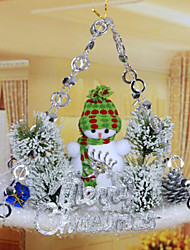 Christmas Christmas tree Decorations Sliding Plate Pendant/Random Color