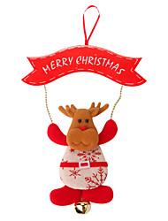 Недорогие -Рождественский декор / Новогодние подарки / Товары для Рождественской вечеринки Elk Оригинальные текстильный Подарок 1 pcs