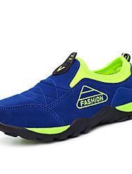 Garçon-Sport-Bleu Taupe Vert clair Bleu royal-Talon Plat-Confort-Baskets-Daim