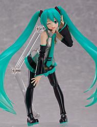 economico -Cosplay Hatsune Miku PVC 15cm Figure Anime Azione Giocattoli di modello Doll Toy