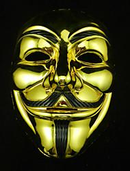 Недорогие -cosplay mask v для вендетты маска анонимный фильм парень fawkes halloween маскарад косплей маска вечеринка костюм костюм