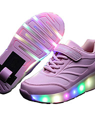 cheap -LED Light Up Shoes,Kid Boy Girl Roller Shoes / Ultra-light Single Wheel Skating/ Athletic / Casual