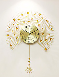 cheap -Modern/Contemporary Aluminum Acrylic Metal Others Indoor,AA Wall Clock