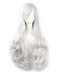 Hot Selling White Color Synthetic Cheap Cosplay Wigs For Women Party Wig