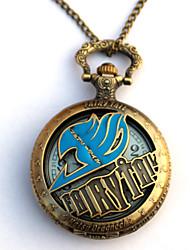 baratos -Relógio Inspirado por Fairy Tail Eren Jager Anime Acessórios para Cosplay Relógio Liga Homens