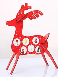 Weihnachten diy hölzerne Hirsche Schreibtisch decorationcreative Weihnachten Rentiere Holz ornamentsred Homedeko Weihnachtsgeschenk