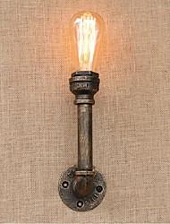 AC 220V-240V 40w e27 bg812 saudade tubulação de água simples luz decorativos de parede lâmpada de parede pequeno