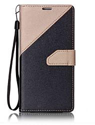 preiswerte -Hülle Für Samsung Galaxy S8 S7 edge Kreditkartenfächer Geldbeutel mit Halterung Flipbare Hülle Magnetisch Ganzkörper-Gehäuse Volltonfarbe