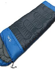 Schlafsack Rechteckiger Schlafsack Einzelbett(150 x 200 cm) 10 HohlbaumwolleX30 Wandern Camping Reisen Draußen DrinnenWasserdicht Tragbar