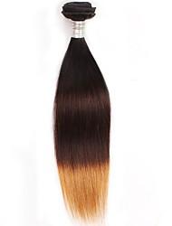 cheap -Brazilian 8A Grade Ombre Straight Human Hair 1B/4/27  1 bundle  Virgin Ombre Brazilian Hair Extension