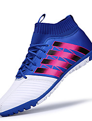 cheap -Soccer Shoes Indoor  Boots / Men's / Boy's  Shoes Blue / Red / Orange