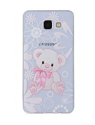 preiswerte -Hülle Für Samsung Galaxy A5(2016) / A3(2016) Muster Rückseite Tier Weich TPU für A8(2016) / A5(2016) / A3(2016)