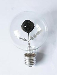 G80 Edison Flame Bulb Rose 3W Night Light Decorative Lamp High Quality