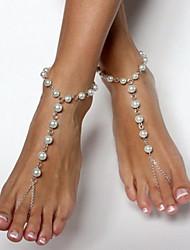 Da donna Cavigliera/Bracciali Perla Resina Con perline Europeo Fatto a mano Gioielli Per Feste Quotidiano Casual